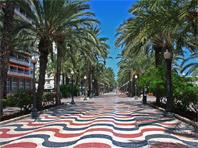 Alicante, Rutas por la ciudad  Alicante_la_esplanada_de_espana
